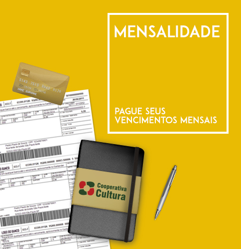 Mensalidade - EXCLUSIVO PARA COOPERADOS